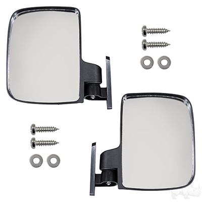 Mirror, SET OF 2, UTV Style Top Strut Mount
