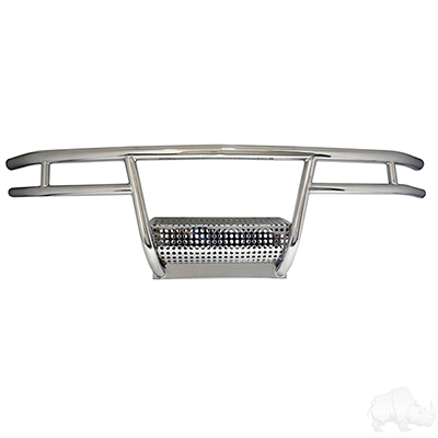 RHOX Brush Guard, Stainless Steel, Club Car DS