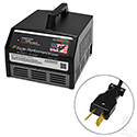 Battery Charger, Eagle Performance Series, 36V-48V Auto Ranging Voltage 15A, Crowsfoot Plug