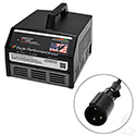 Battery Charger, Eagle Performance Series, 36V-48V Auto Ranging 15A Club Car w/o OBC