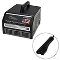 Battery Charger, Eagle Performance Series, 36V-48V Auto Ranging 15A E-Z-Go 3-Pin