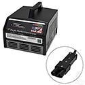 Battery Charger, Eagle Performance Series, 36V-48V Auto Ranging Voltage 15A, Yamaha 2-Pin