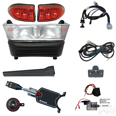 Build Your Own Light Bar Kit, Club Car Precedent 08.5 w/12V (Standard, Linkage)