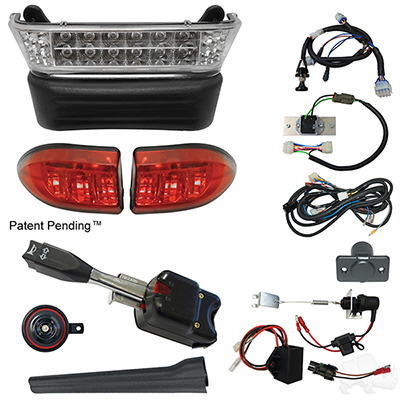 Build Your Own LED Light Bar Kit, Club Car Precedent 08.5+ w/8V (Standard, Linkage)