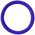 Steering Wheel Cover, Rubber Universal, Blue