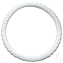Steering Wheel Cover, Rubber Universal, White