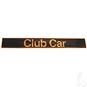 Name Plate, Black/Gold, Club Car DS 82+