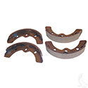 Brake Shoes, SET OF 4, E-Z-Go 82-86 1/2, Club Car 81-94, Yamaha 2-cycle Gas 78-81