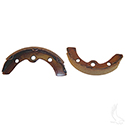 Brake Shoes, SET OF 2, Long Rear, E-Z-Go 87-96, 09+, Club Car DS/Prec 95+, Yamaha G1/G2/G8/G9 82-93