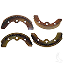 Brake Shoes, SET OF 4, E-Z-Go 87-96, 09.5+, Club Car DS 95+, Prec, Yamaha G1/G2/G8/G9 82-93