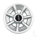 "Wheel Cover, 8"" Spider 7 Spoke Silver"