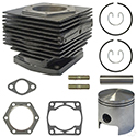 Overhaul Kit, Top End, E-Z-Go 2-cycle Gas 80-88