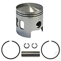 Piston and Ring Assembly, Standard Size, E-Z-Go 2-cycle Gas 89-93 2 port oversized pistons