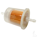 Fuel Filter, In-line E-Z-Go Marathon 2-cycle Gas 76-94, Club Car Gas 84-91