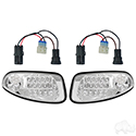 RXV Factory Style Clear LED Headlight Retro Fit Kit