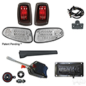 Build Your Own LED Factory Light Kit, E-Z-Go RXV 2016+, Basic, Pedal Mount