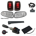 Build Your Own LED Factory Light Kit, E-Z-Go RXV 2016+, Standard, OE Fit Brake Pedal Switch