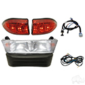 Light Bar Kit, Club Car Precedent 08.5+ w/ 12V Batteries