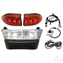 Light Bar Kit, Club Car Precedent 08.5+ w/ 8V Batteries