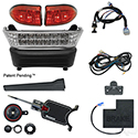 Build Your Own LED Light Bar Kit, Club Car Precedent, Electric 08.5+, 12-48v, (Basic, OE Fit)
