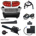 Build Your Own LED Light Bar Kit, Club Car Precedent, Electric 08.5+, 12-48v, (Deluxe, OE Fit)