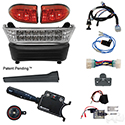 BYO LED Light Bar Kit, Club Car Precedent, Gas & Electric 04-08.5+, 12-48v, (Deluxe, Linkage)