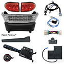 BYO LED Light Bar Kit, Club Car Precedent, Gas & Electric 04-08.5+, 12-48v, (Deluxe, OE Fit)
