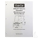 Maintenance & Service Manual, Club Car Precedent Electric IQ and Excel 09-11