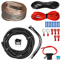 AMP Wiring Kit, AMP Package with LED Rocker Switch
