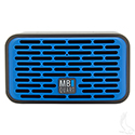 QUB, Two Dual Driver Wireless Bluetooth Speaker, Blue