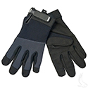 Mechanics Gloves, Light Duty, Extra Large