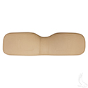 Seat Back Assembly, Tan, E-Z-Go Medalist/TXT
