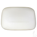 Seat Back Assembly, White, Club Car 00 & down