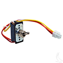 Run/Tow Switch, Toggle 48V PDS, DCS, E-Z-Go TXT 94+