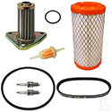 Deluxe Tune Up Kit, E-Z-Go 4 Cycle 295/350cc Gas 96+ w/Oil Filter