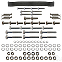 RHOX Replacement Hardware, SS Seat Kit, E-Z-Go TXT 96+