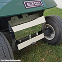 Axle Cover, Stainless Steel, E-Z-Go TXT 01.5+
