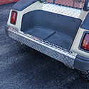 Rear Bumper Cover, Diamond Plate, Club Car DS