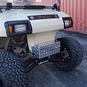 Front Bumper Cover, Diamond Plate, Club Car DS