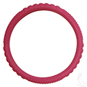 Steering Wheel Cover, Rubber Universal, Magenta