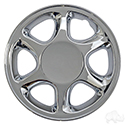 "Wheel Cover, 8"" Sport Edition Real Chrome"