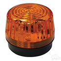 Strobe Light, Amber, LED 12-24VDC