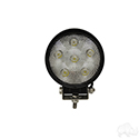 "Utility Floodlight, LED, 4.5"" 12V-24V 18W 1350 Lumen"