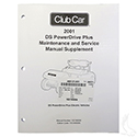 Maintenance & Service Supplement, Club Car PowerDrive Plus 48V 01