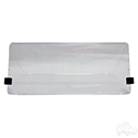 Windshield, Clear 2 Piece, Club Car Old Style 82-00